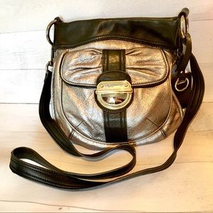 b Markowsky Black Silver purse bag crossbody